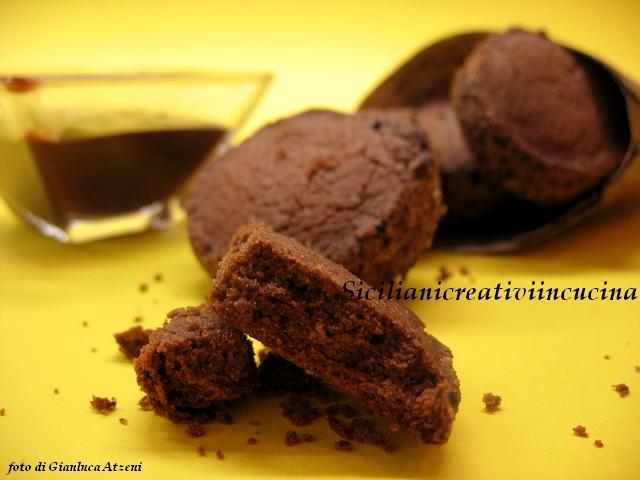biscotti di riso al cacao, gluten free