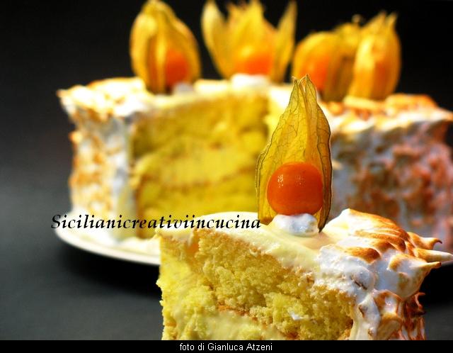 Torta deliziosa al limone con meringa e Buon Natale! | SICILIANI ...