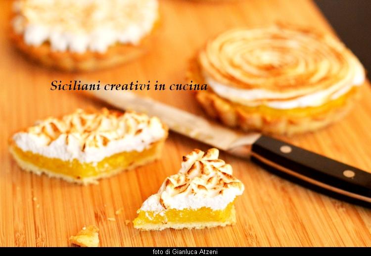 limonentarte mit baiserhaube aus italien