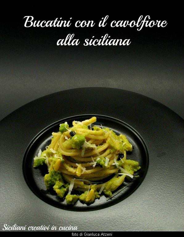 pasta con il cavolfiore alla siciliana