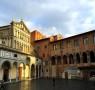 Piazza Duomo a Pistoia