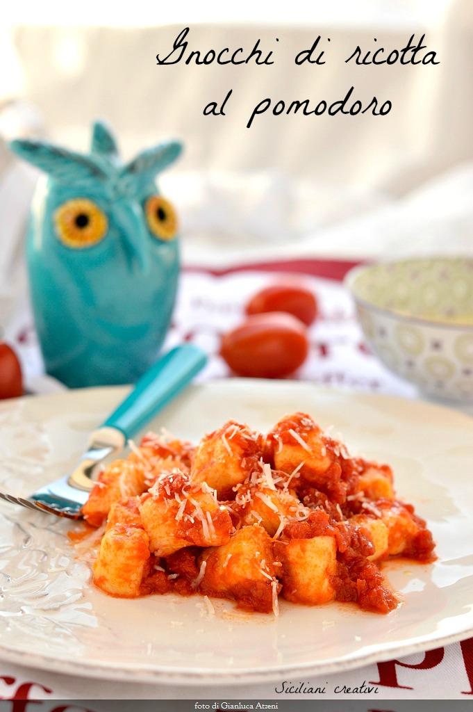 Ricetta Gnocchi Ricotta Montersino.Gnocchi Di Ricotta Siciliani Creativi In Cucina
