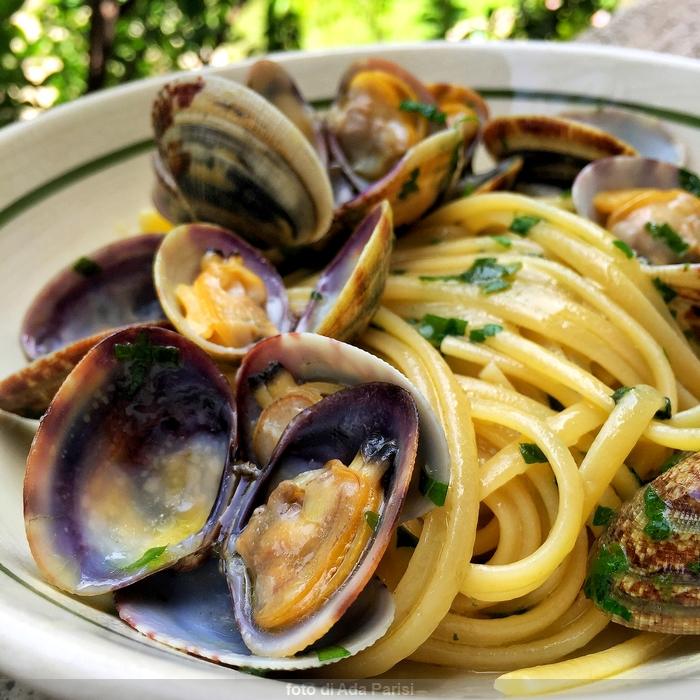 Spaghetti Con Le Vongole Siciliani Creativi In Cucina
