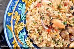 Ricette di risotti: il risotto alla pescatora